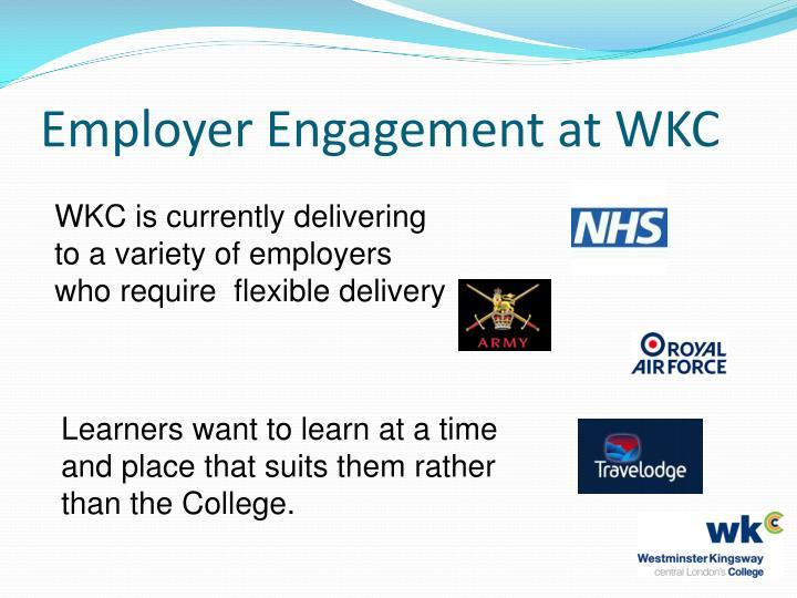 Employer engagement at wkc