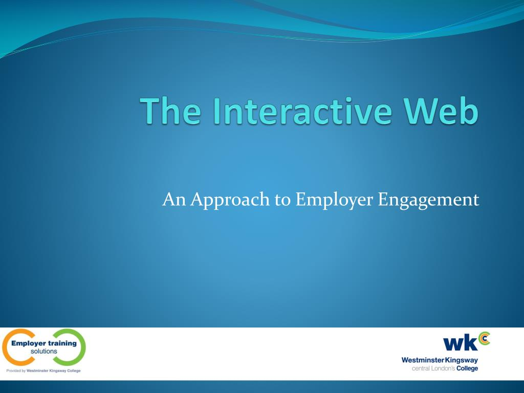 the interactive web l.
