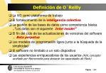 definici n de o reilly19