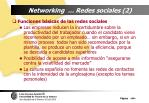 networking redes sociales 2