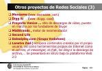 otros proyectos de redes sociales 3