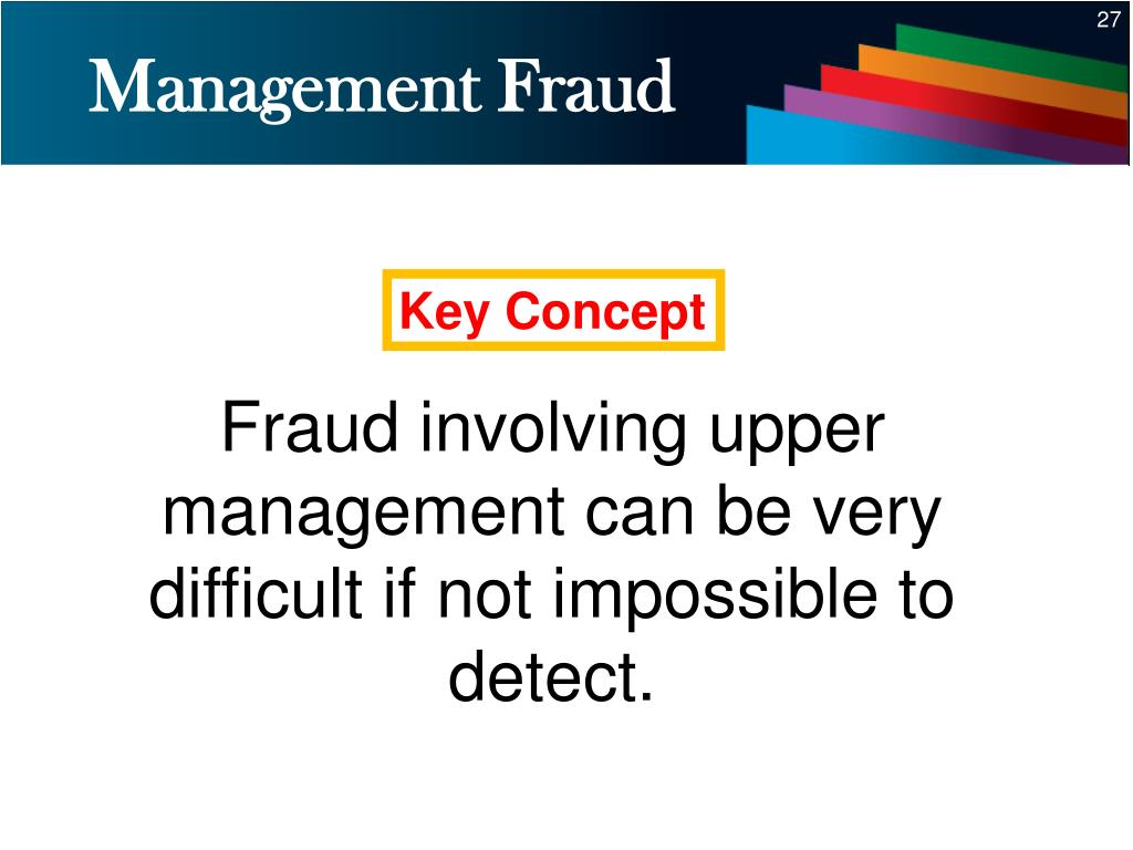 Management Fraud