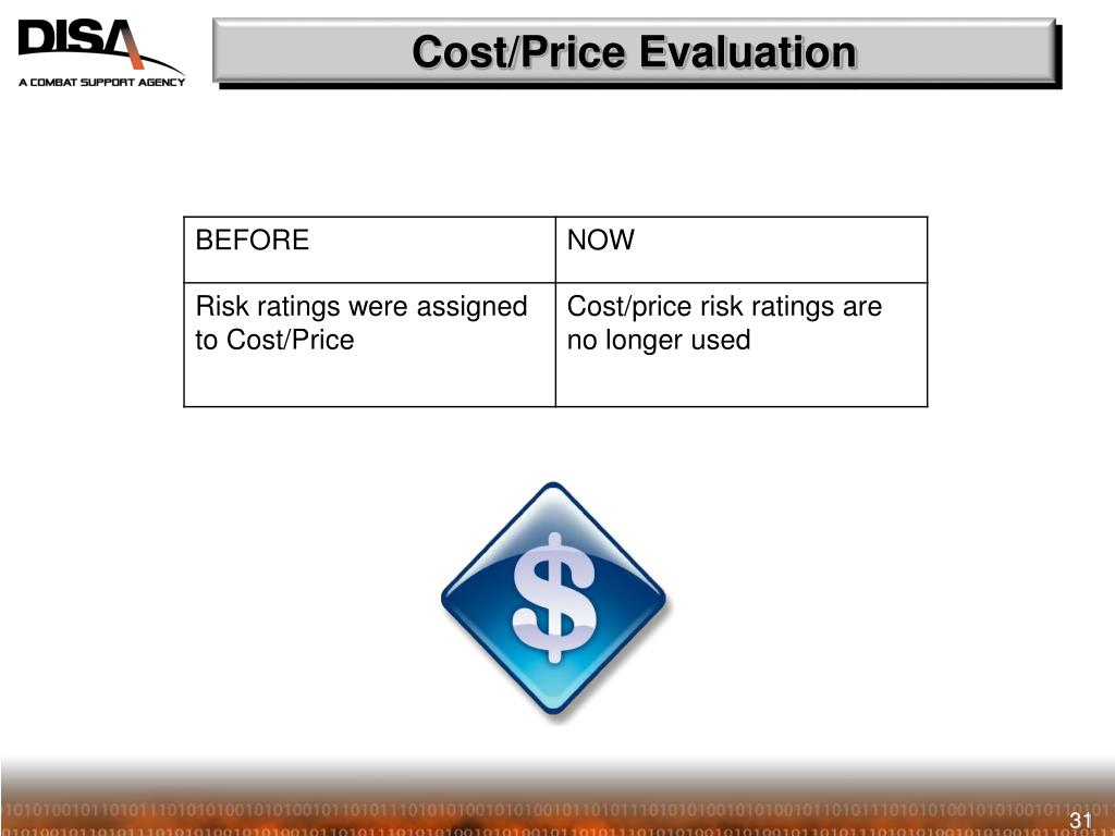 Cost/Price Evaluation