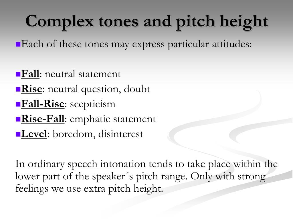 Complex tones and pitch height