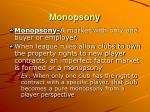 monopsony