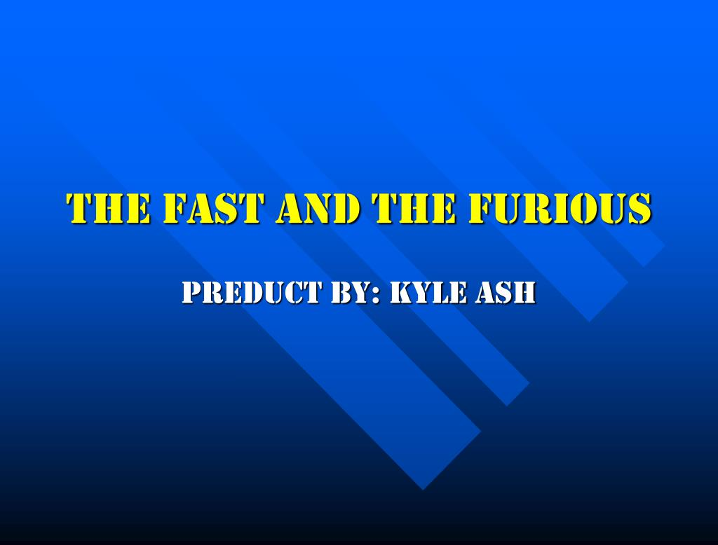 the fast and the furious l.