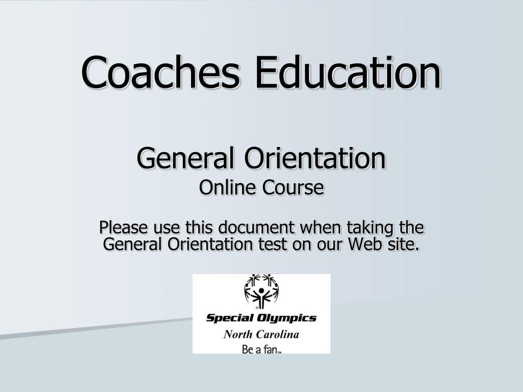 coaches education l.
