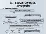 ii special olympics participants17