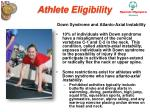 athlete eligibility21
