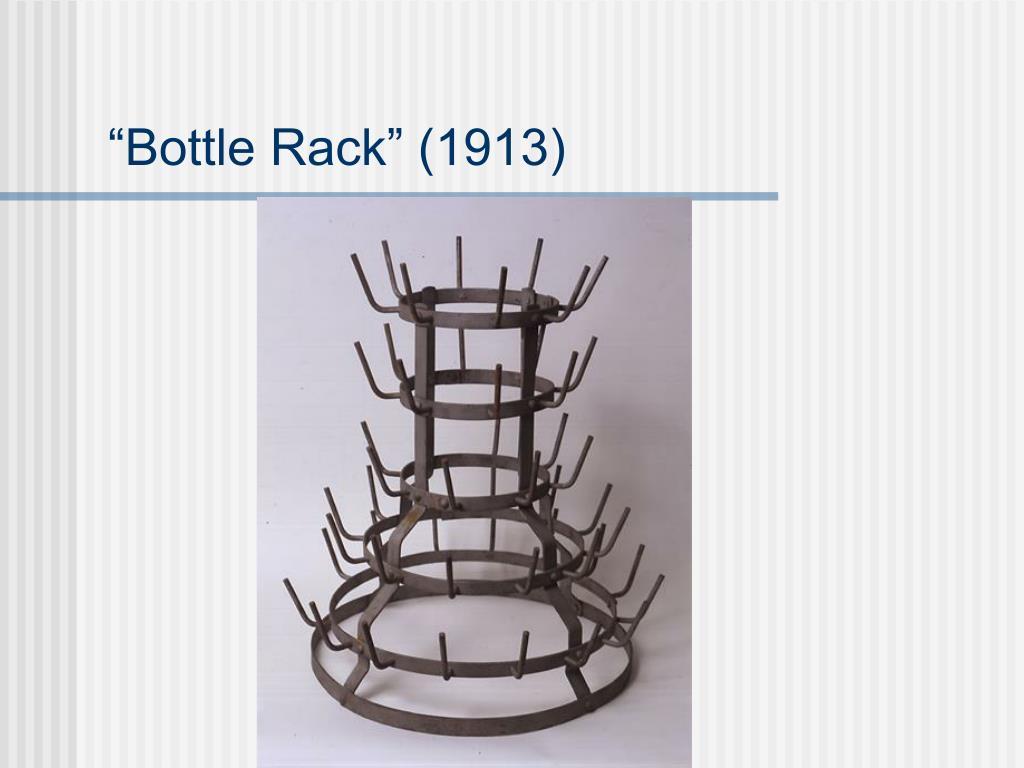 """""""Bottle Rack"""" (1913)"""