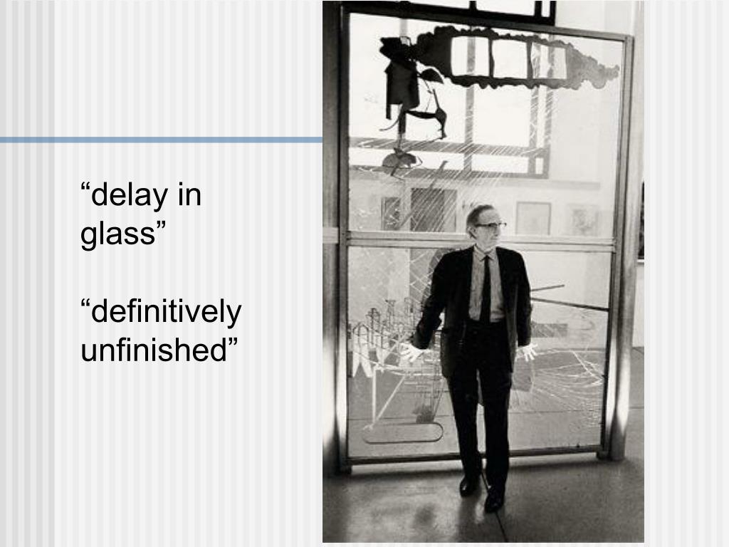 """delay in glass"""