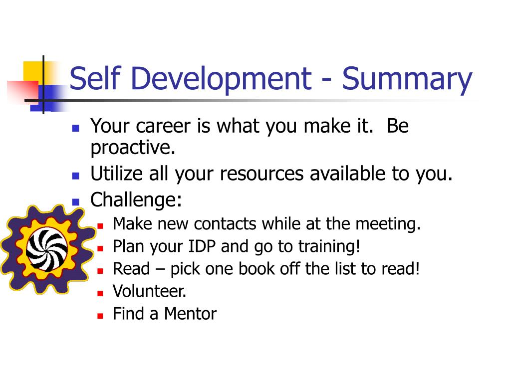 Self Development - Summary