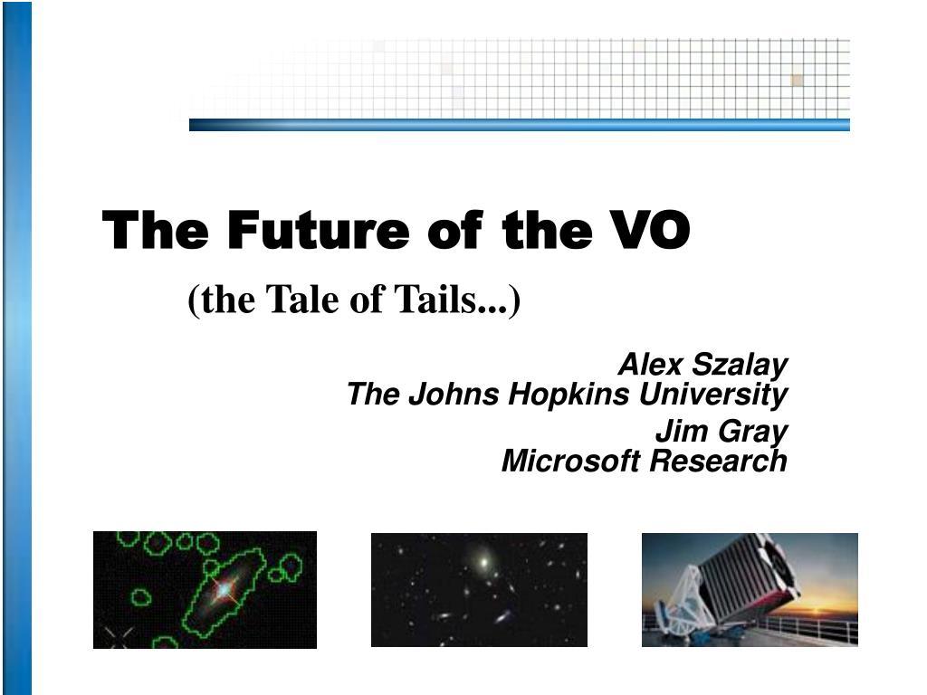 the future of the vo l.