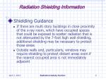 radiation shielding information9