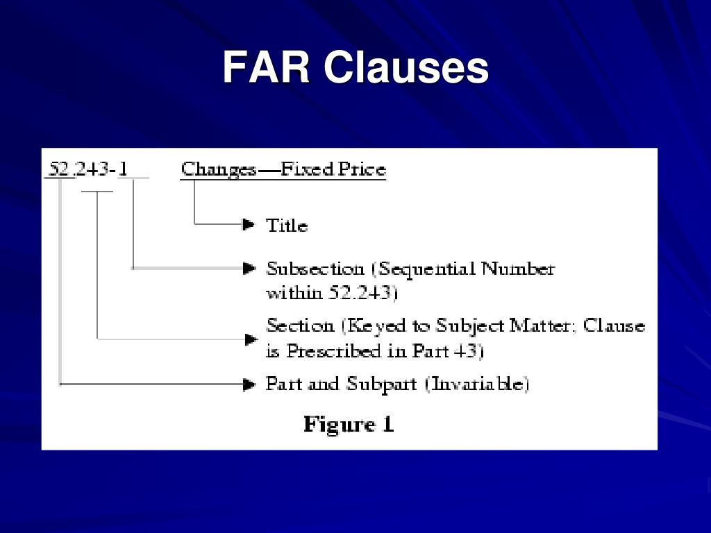 FAR Clauses