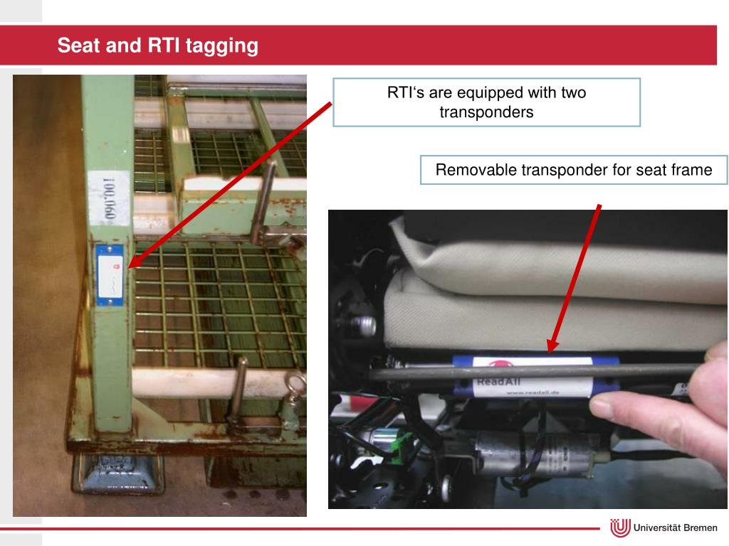 Seat and RTI tagging