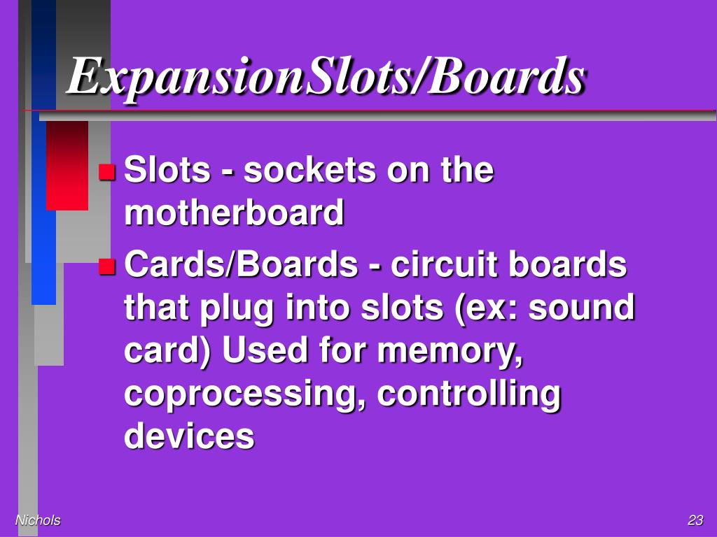 ExpansionSlots/Boards