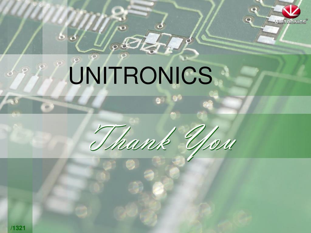PPT - UNITRONICS PowerPoint Presentation - ID:759253