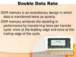 double data rate