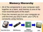 memory hierarchy5