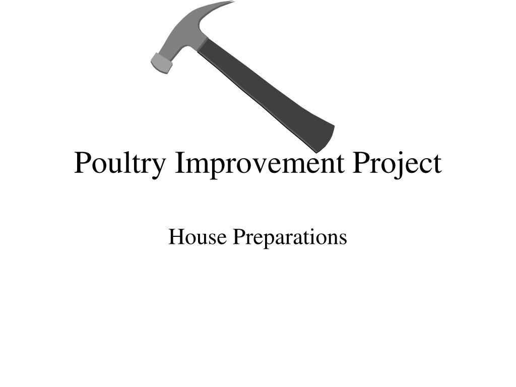 poultry improvement project l.