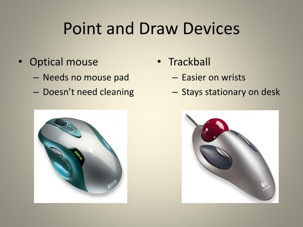 Point and Draw Devices