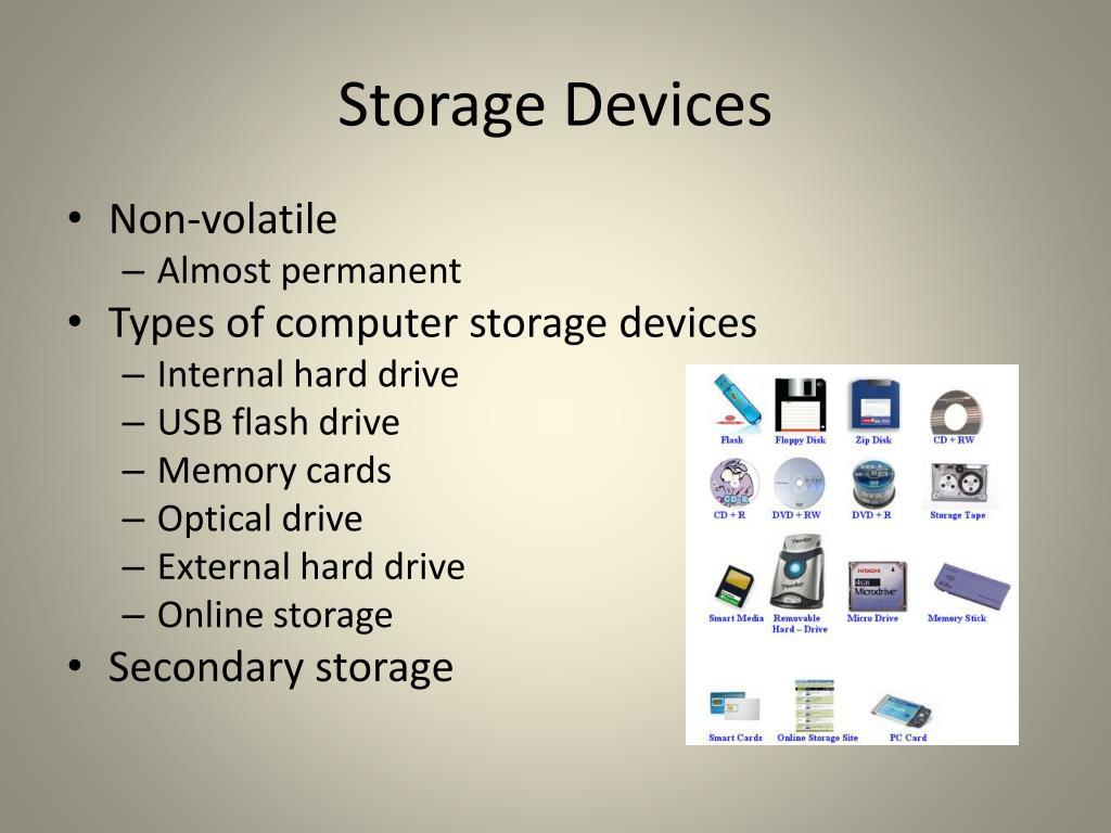 Storage Devices