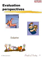 evaluation perspectives