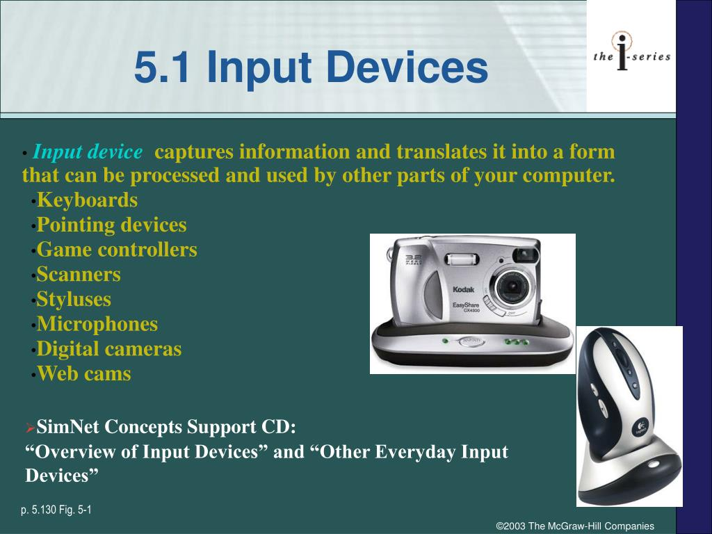 5.1 Input Devices