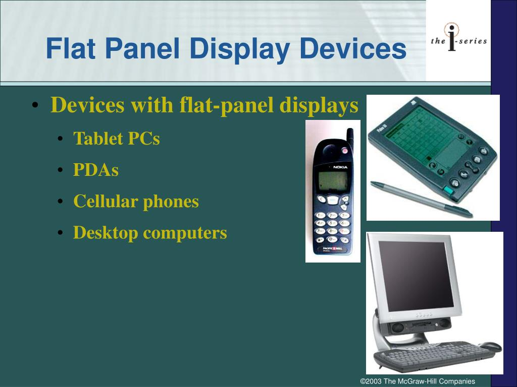 Flat Panel Display Devices