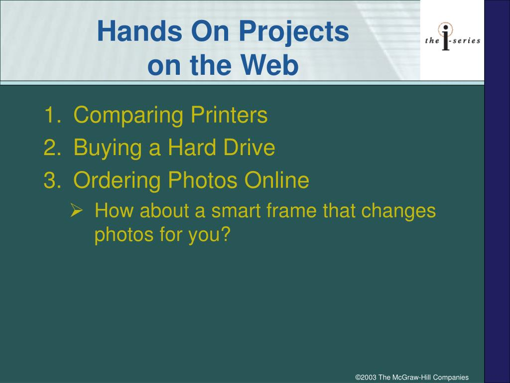 Hands On Projects