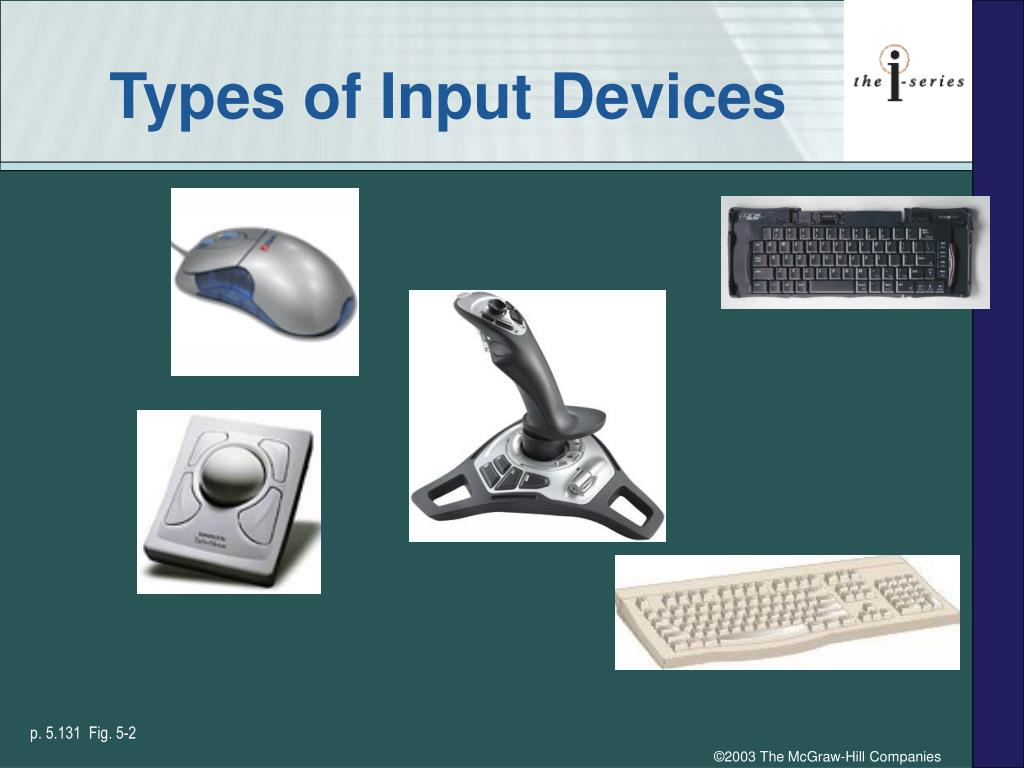 Types of Input Devices