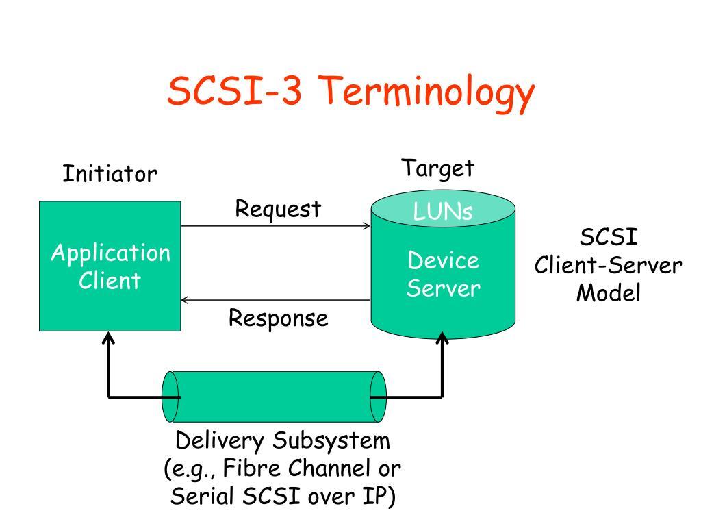 SCSI-3 Terminology