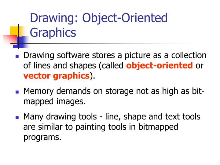 Drawing: Object-Oriented Graphics