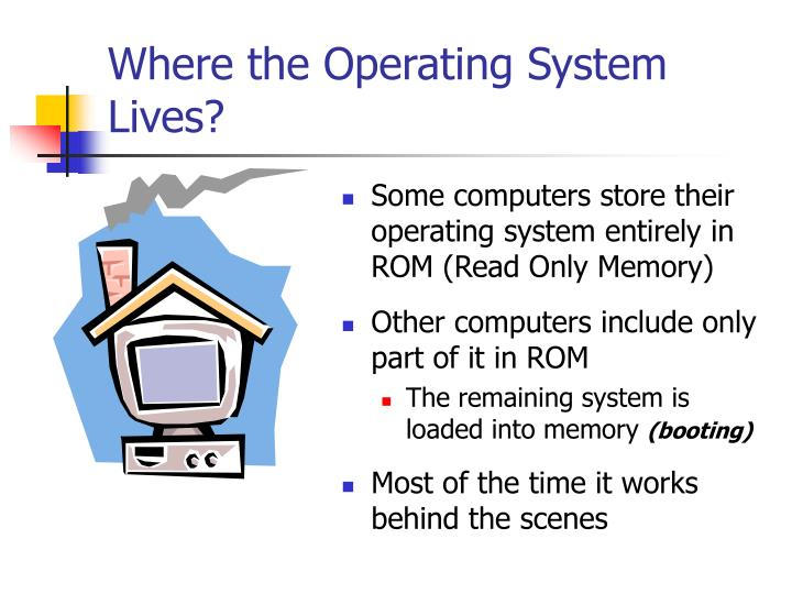 Where the Operating System Lives?