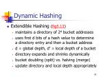 dynamic hashing