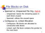 file blocks on disk6
