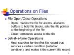 operations on files8