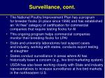 surveillance cont