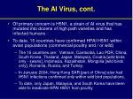 the ai virus cont