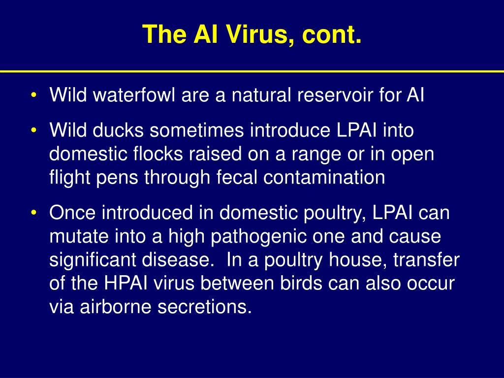 The AI Virus, cont.