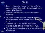 diet ii