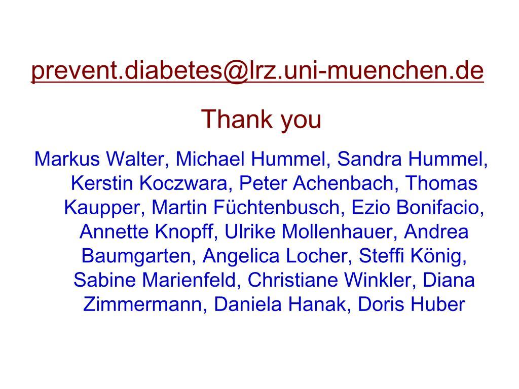 prevent.diabetes@lrz.uni-muenchen.de