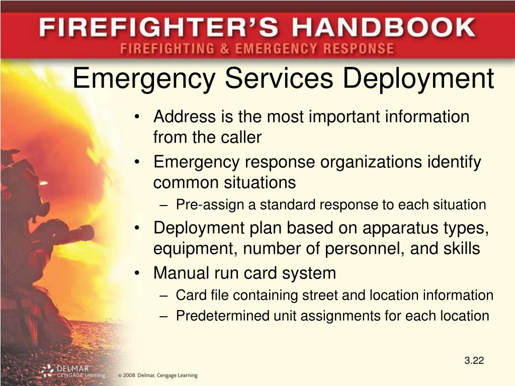 Emergency Services Deployment