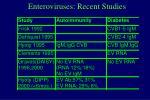 enteroviruses recent studies