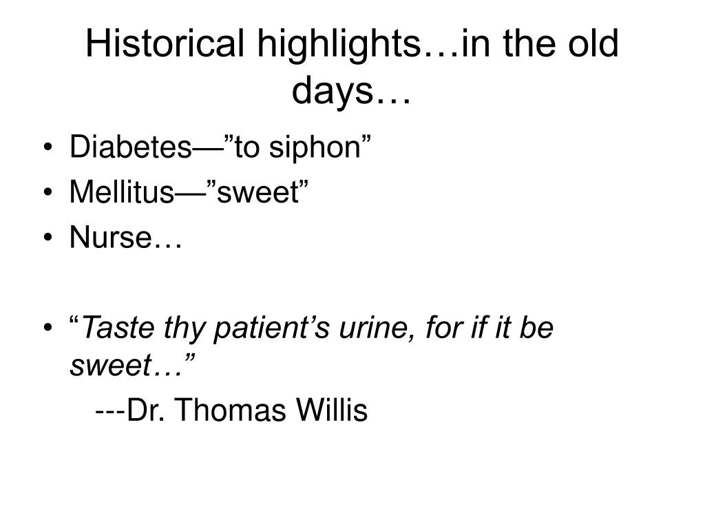 Historical highlights…in the old days…
