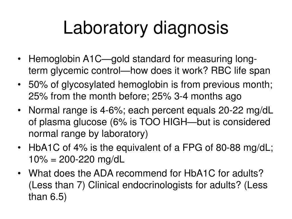 Laboratory diagnosis