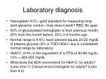 laboratory diagnosis29