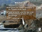 mitchell act