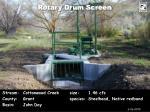 rotary drum screen